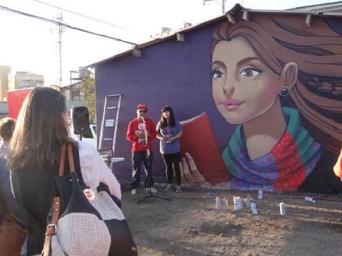 Graffitiplay continúa con intervenciones urbanas en Población Pablo Krugger
