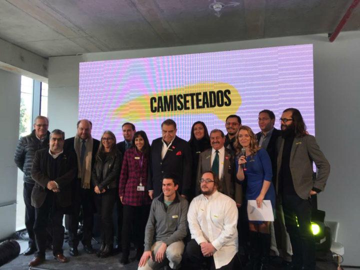 """Fundación Minera Escondida se suma a campaña nacional  """"Camiseteados 2017"""""""