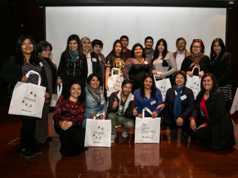 Ganadores de Concurso para Organizaciones Sociales firmaron convenio