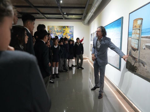 Muestra colectiva sobre territorios llega a la Sala de Arte de FME