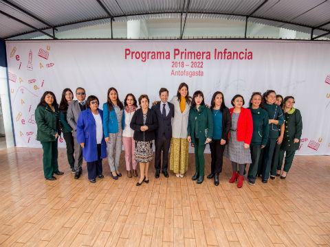 Programa Primera Infancia inicia segunda versión en Antofagasta