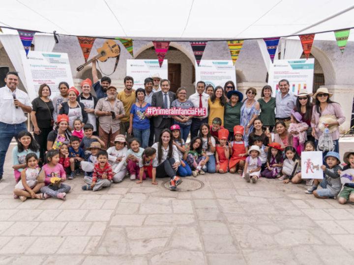 Con feria comunitaria culminó primera versión del Programa Primera Infancia