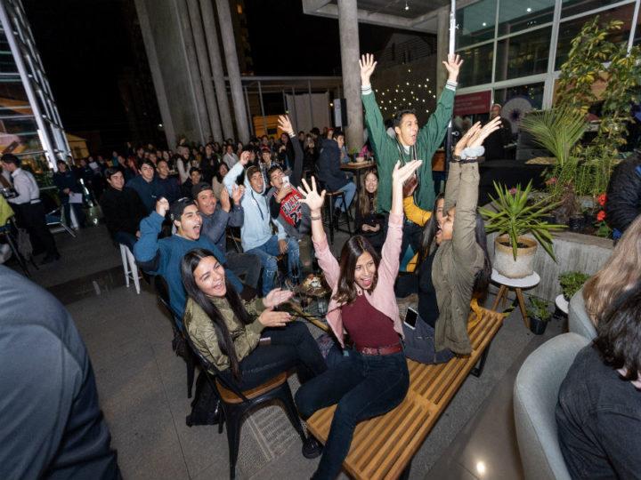 Jóvenes de la región inician experiencia formativa con fiesta de color y danza