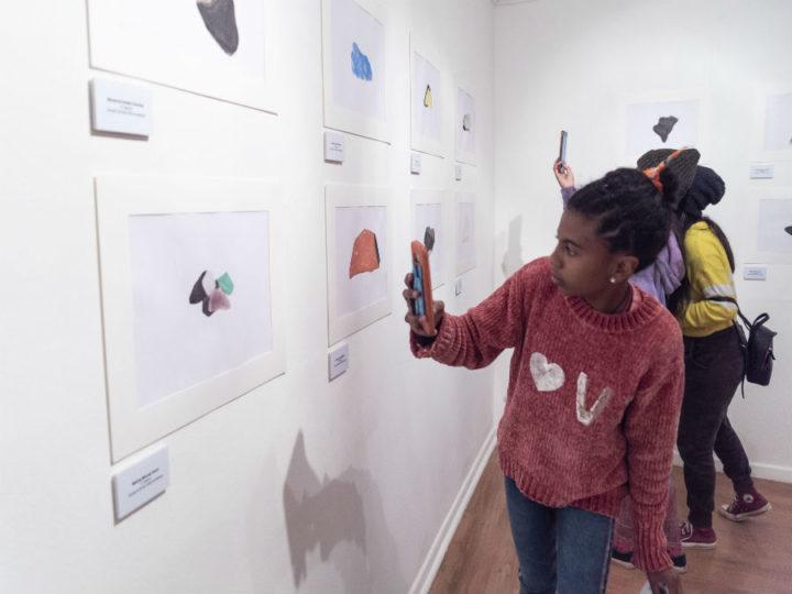 Escolares fueron los artistas de muestra inspirada en San Pedro de Atacama