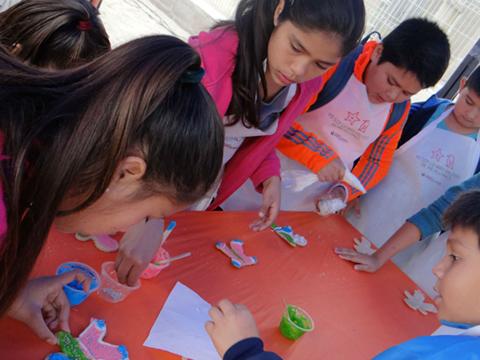 """""""Invierno en mi Barrio"""" sorprendió a niños y niñas de Mejillones en sus vacaciones"""