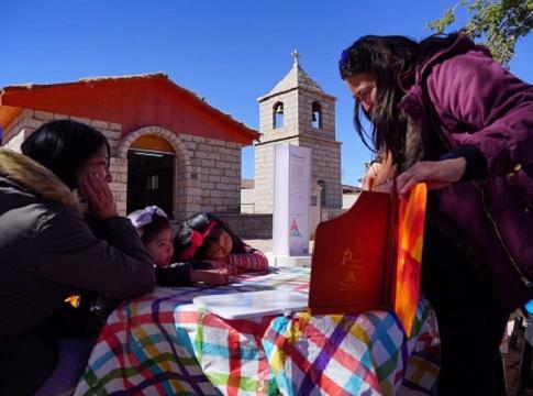 Niños reforzaron conocimientos a través de actividades lúdicas