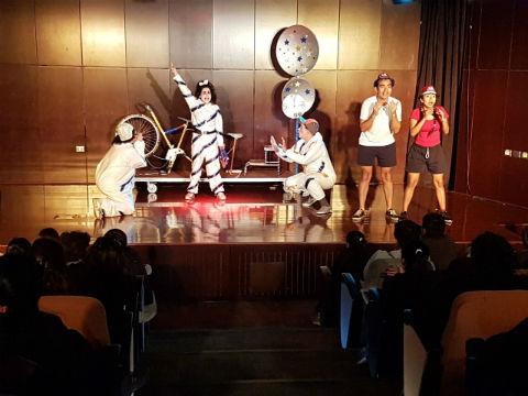 Escolares disfrutan de Ciclo de Teatro Infantil
