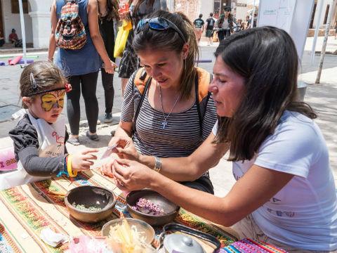 Familias de San Pedro de Atacama vivieron entretenidas experiencias educativas