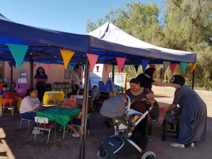 """Talleres """"Crea en verano"""" llegan a San Pedro de Atacama"""