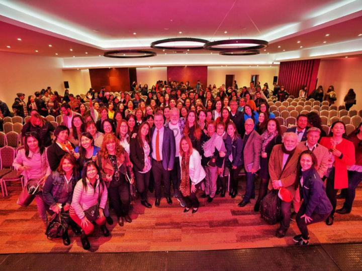 Más de 400 docentes y educadores participaron en exitoso seminario de educación