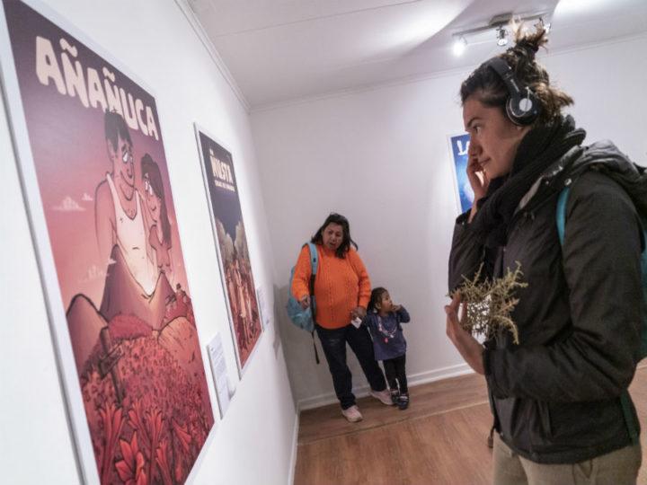Culmina exposición sobre relatos ancestrales del norte de Chile