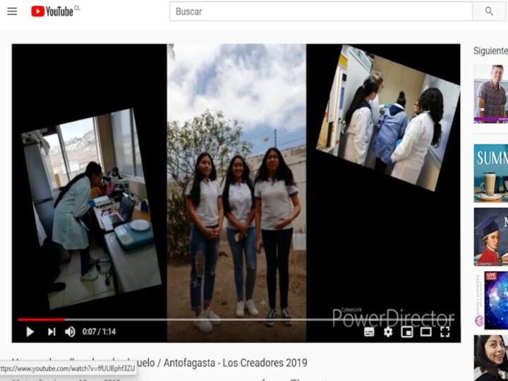 """Estudiantes de todo chile llegan a la televisión con programa """"Historias de innovación escolar"""""""