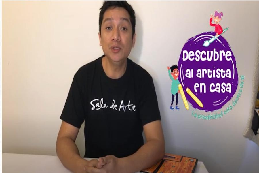 Revisa el vídeo de Descubre al artista en casa. Capítulo 4