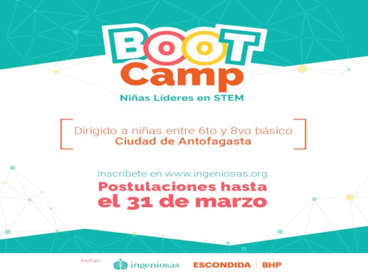 Postula al Bootcamp 2021: Niñas Líderes en STEM, para el desarrollo de habilidades en ciencia y tecnología