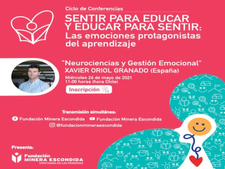 """Expertos internacionales presentarán en el Ciclo de Conferencias """"Sentir para Educar y Educar para Sentir"""""""